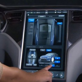 Обзор Tesla Touchscreen Controls